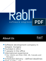 An Introduction to RabIT Software Engineering