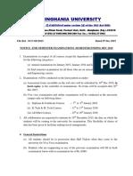 Dec Exam Notice