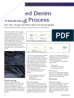 Environmental Assessment of Combined Denim Washing Process