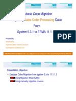 Essbase Migration