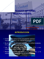 Hipertension Arterial Generalidades