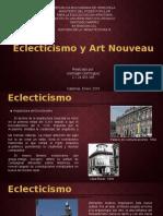 Eclecticismo y Art Nouveau