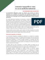 Los Instrumentos Topográficos Como Alternativa en La Medición Industrial
