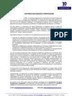 Reseña Historica de la Corporación de SO&A (2010)