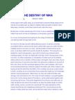 The Destiny of Man - Wesley Aber