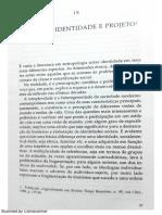 Memória, Identidade e Projeto Gilberto Velho