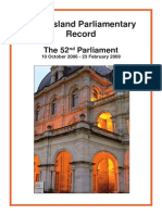 52nd Parl Record