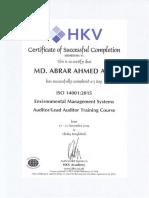 ISO 14001.2015 Lead