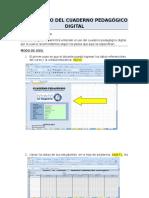 Guia de Uso Del Cuaderno Pedagógico Digital