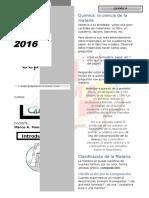 Química I - Materia Clasificación