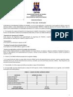 UFPB - Edital Anexo 01