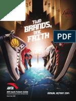 Anta Sports Annual Report 2015