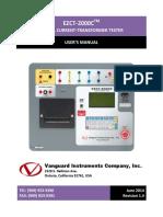 Ezct-2000c User Manual Rev 1.4