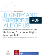 Reflecting on Human Rights in Africa