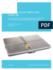 Protecting Human Rights in the Digital Age