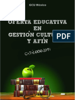 Oferta Educativa de Gestion Cultural Mexico