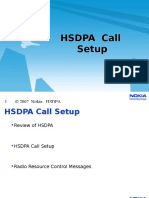 HSDPA Call Setup