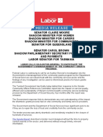 Labor calls on Auditor-Genderal to Investigate the Government's Mismanagment of the Community Grants Program