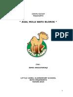 Asal Mula Watu Blorok