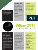 Bilbao World Design Capital 2014 Síntesis del Proyecto