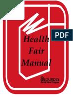 Health Fair Manual