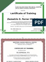 True Certificate