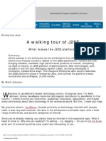 A walking tour of J2EE