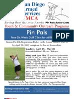 Spring 2010 Pin Pals Junior Links Registration