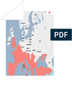Harta Europa anul 190d.H.