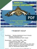 Kulpak RSAL - Pengenalan HBOT Dr. Padma
