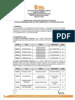 Edital Estágios Profissionalizantes SPA 2016.1