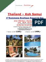 thailand koh samui rummana resort 7=6 14=12