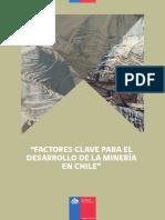 Factores Clave para el Desarrollo de la Minería en Chile