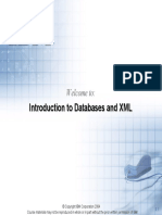 Lecture Introduction to XML