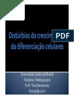 4.0.Distúrbios Do Crescimneto e Da Diferenciação Celulares[1]
