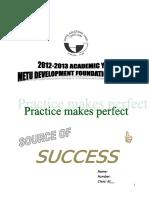 8th Grades Source of Success