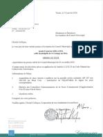Ordre du jour du Conseil municipal du 21 janvier 2016