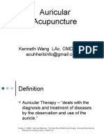 Auricular Acupuncture 2013 Summer