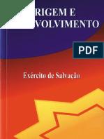 Exército de Salvação - Origem e Desenvolvimento