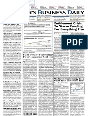 i Bd 20130918 | Yield (Finance) | Quantitative Easing