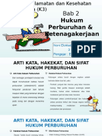 Hukum Perburuhan & Ketenagakerjaan K3