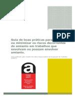 Guia de Boas Práticas Para Prevenir Ou Minimizar Os Riscos Decorrentes Do Amianto