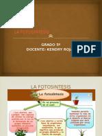 La Fotosintesis Kendry Ple