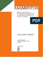 FRAGMENTOS 20 [Juan Carlos Onetti]