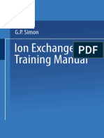 [George P. Simon (Auth.)] Ion Exchange Training Manual