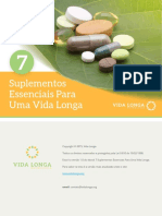 Vida Longa 7 Suplementos Essenciais Para Uma Vida Longa