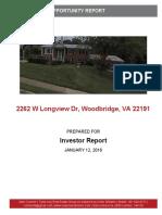 Woodbridge Rehab Opportunity