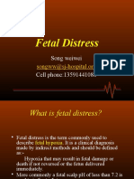 Fetal Distress and DFM