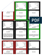 Sircedric4 Power Card Blanks