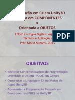 Programação Orientada a Objeto VS Baseada em Componentes